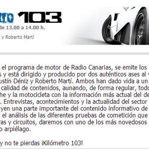 Radio Canarias (Especial Copilotos entrevista Carlos Larrodé-Pity Ramos-Israel Pereira).