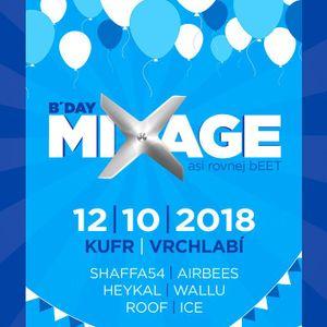 Wallu - B'Day Mixage live record (House mix)