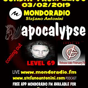 Apocalypse radioshow on Mondoradio 03/02/2019 episode#85 Stefano Antonini