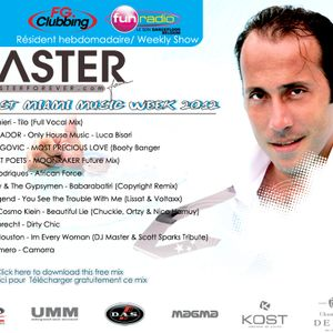 Exclusive DJ MASTER PODCAST MIAMI MUSIC WEEK 2012
