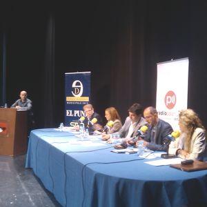 Debat de candidats a les eleccions municipals de Palafrugell, moderat per Màxim Castillo