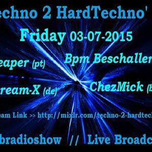 Scream-X - @ Techno 2 Hardtechno 2015-07-03