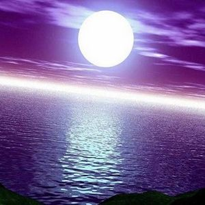 The Moon Flowing Like Water