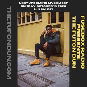 FuseBox Radio #616: DJ Fusion's The Futon Dun Livestream DJ Mix Fall Session #7 (F.A.J.R. = Funk, Ac