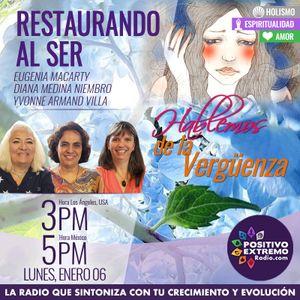 RESTAURANDO AL SER-01-06-20-HABLEMOS DE LA VERGUENZA