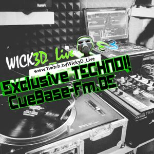 Wick3D! - Exclusive TechnoSet! - CueBase-FM.de Podcast - Bassinjection pres. by Marcel Minimal