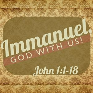 Immanuel, God With Us!