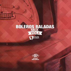 Boleros Baladas Mix Vol 4 - Dj Erick El Cuscatleco - Impac Records.