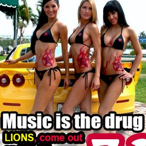Music is the Drug 031 with Corey Biggs - Lions Comes out to Play (Rockstar Bday Celebration)