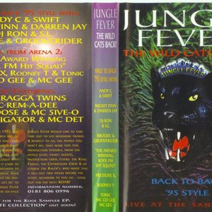 Mickey Finn & Darren Jay -  Jungle Fever, The Wild Cats Back - Sanctuary - 18.3.95