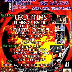 LORENZOSPEED* LEO MAS and DAViDE DEGLi ANGELi @ NEW BABOL presso Le Queen Padova Capodanno 2010