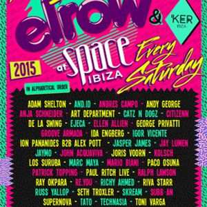 Andres Campo live @ ElRow at Space (Ibiza) – 16.08.2015