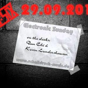 29-09-13 Electronic Sunday mit Kevin Lundershausen