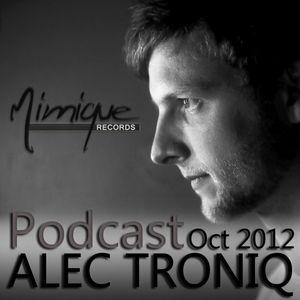 Mimique Podcast Oct 2012 by ALEC TRONIQ