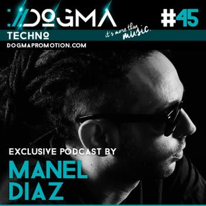 Manel Diaz - Techno Live Set // Dogma Techno Podcast [July 2015]