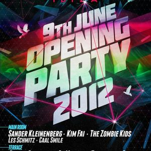Coyu - Live @ Opening Party 2012, Amnesia Ibiza, Espanha (09.06.2012)