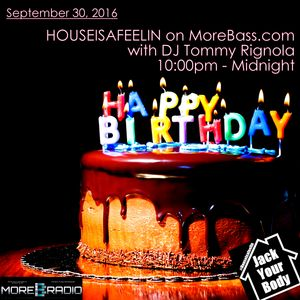 Houseisafeelin on More Bass 24 Sept 2016