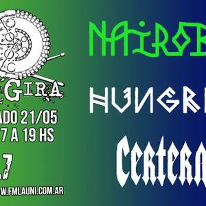 De Gira #03 : Nairobi, Hungria, Certera (21/05/16)