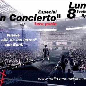 Conexión Francófona 08-09-14 - Especial: En concierto (1era parte).
