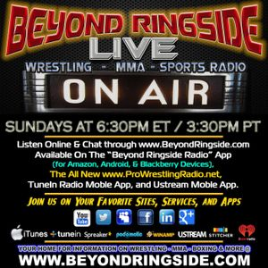 Beyond Ringside Radio - September 11, 2016