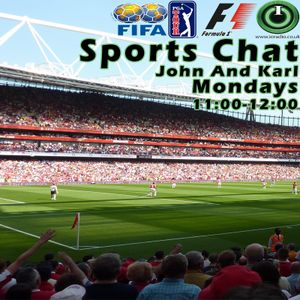 Sports Chat with Karl and John on IO Radio 191216
