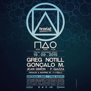 JeanSimon - Trivial Booking Night at NAO Sala WOW - 19-9-2015