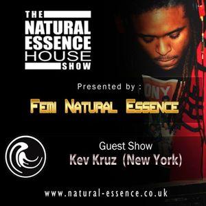 The Natural Essence House Show EP# 140 - Kev Kruz