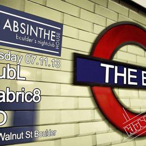 G House -Absinthe House Feb 8th