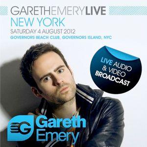 Blake Jarrell - Live at Governors Island NYC - 04.08.2012