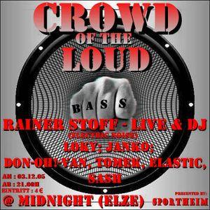 Janko @ Crowd Of The Loud - Midnight Elze - 03.12.2005 - Part 1