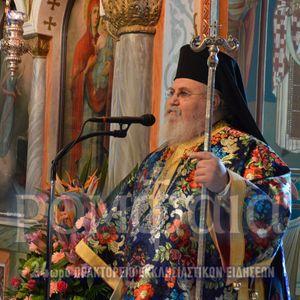 Κήρυγμα Σεβ. Μητροπολίτη Καισαριανής κ. Δανιήλ στον Ι.Ν. Ευαγγελισμού Υμηττού
