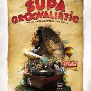 Supagroovalistic radio show - 13/01/2011