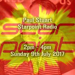 Paul Stuart – Starpoint Radio - 2pm ~ 4pm On Sunday 9th July