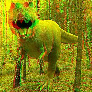 Shhh...There's A Dinosaur In The Woods