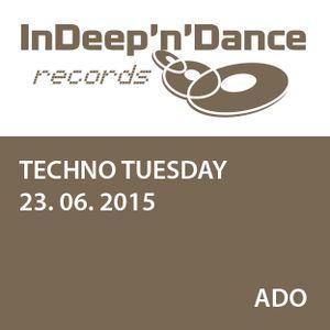 Ado  - WIOYM - Techno Tuesday Amsterdam - 23 June 2015