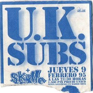 U.K. Subs @ Sala Revolver - Madrid - 09/02/1995