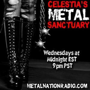 Celestia's Metal Sanctuary including Extras on Wednesday, April 27, 2016