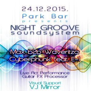 Cyberphunk Feat. E-1 LIVE@ParkBar - Caribrod - 241215 - Segment II
