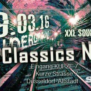 The Underground 3 Classics Night Tom Hanting