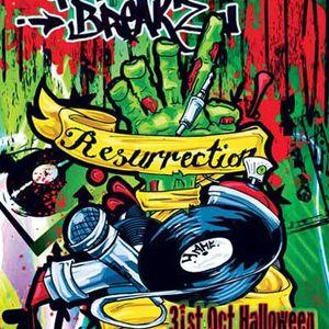 Disowned - Graffiti Breakz (The Resurrection) Studio Mix - Oct 2009