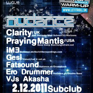 Clarity Promo Mix for Nudance Bratislava