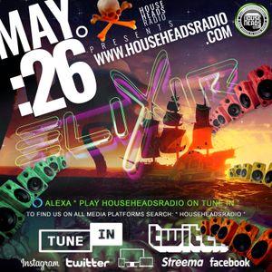 elixir - LIVE - May 26 - DnB - House Heads Radio UK - 2021