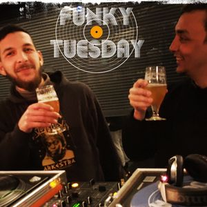 Xian and Jonas from the dj collective Pladevennerne  - 21/02/2017 - FUNKY TUESDAY LIVE SESSION