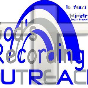 God's Recording Outreach - Motivational Monday - April 8, 2013