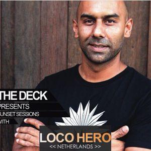 Sunday Sunset Session @ The Deck - Nusa Lembongan   DJ LOCOHERO 2015