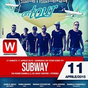 "Subway 11.04 presenta ""SAMSARA ON TOUR"""