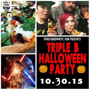 Episode 19 - Halloween Pizza Party!! with 50 Shades of Jean Grey (10 - 30 - 15)
