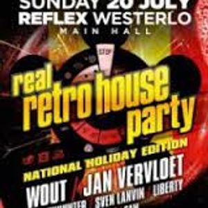 Dj bountyhunter club reflex real retro house party 20 for Retro house music