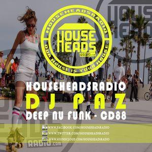 Paz - Deep Nu Funk - CD 88 (HouseHeadsRadio.com)