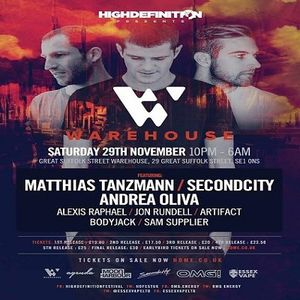 Andrea Oliva  - Live At High Definition, Great Suffolk Street Warehouse (London) - 29-Nov-2014